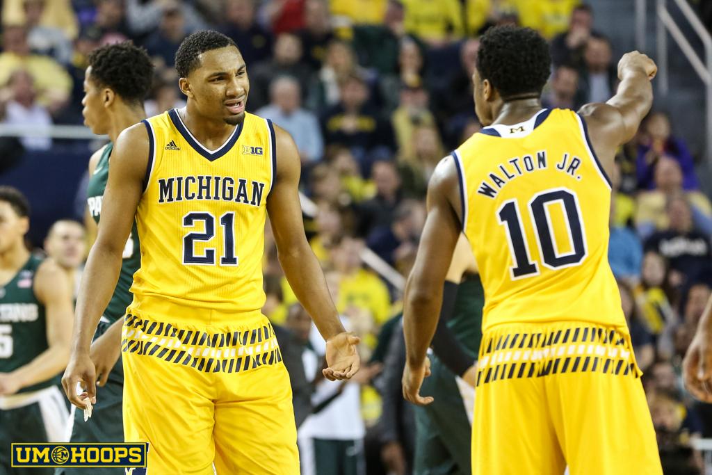 Michigan State 89, Michigan 73-7