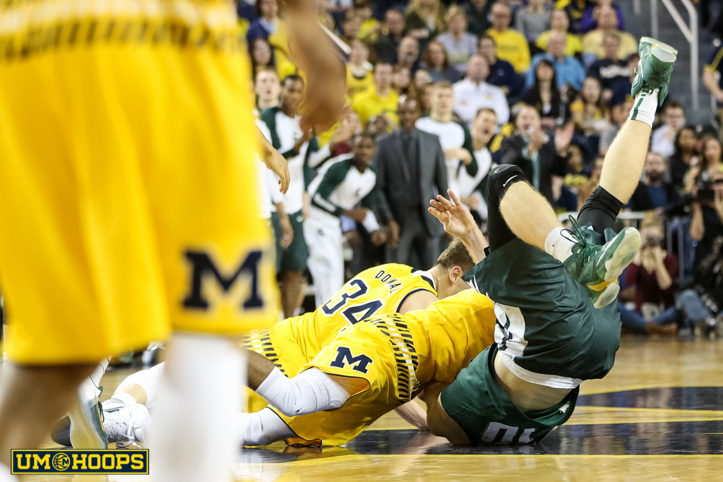 Michigan State 89, Michigan 73-5