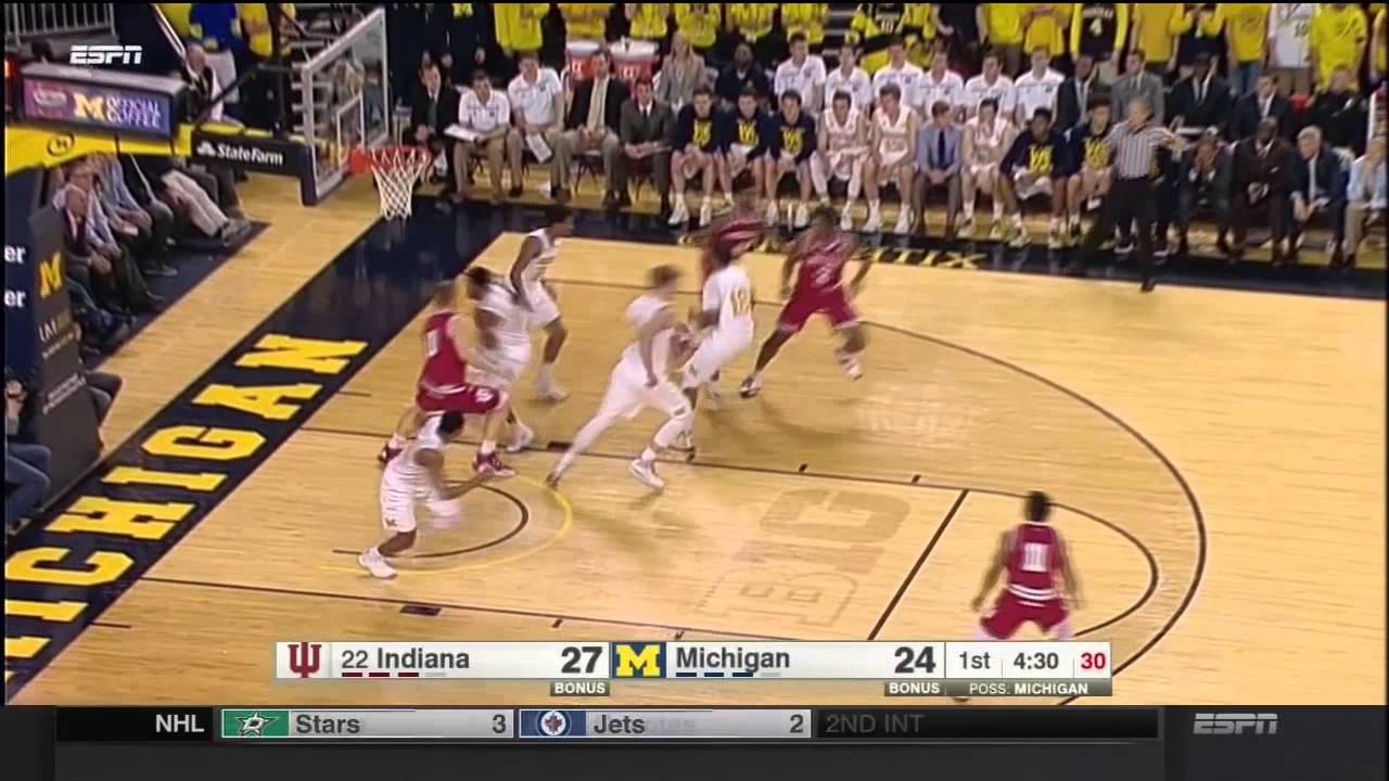Five Key Plays: Indiana 80, Michigan 67