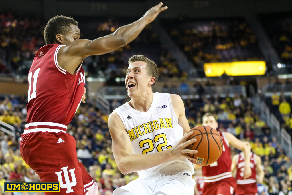 Indiana 80, Michigan 67-30