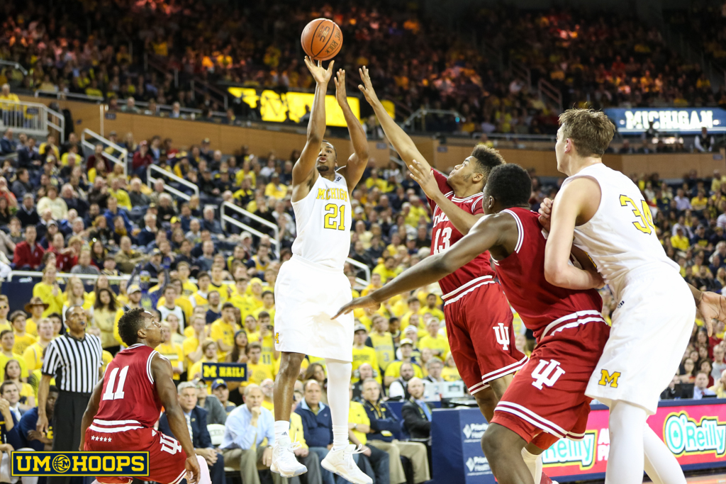 Indiana 80, Michigan 67-24