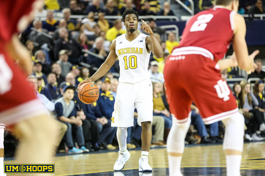 Indiana 80, Michigan 67-16