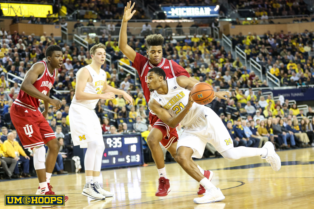 Indiana 80, Michigan 67-8