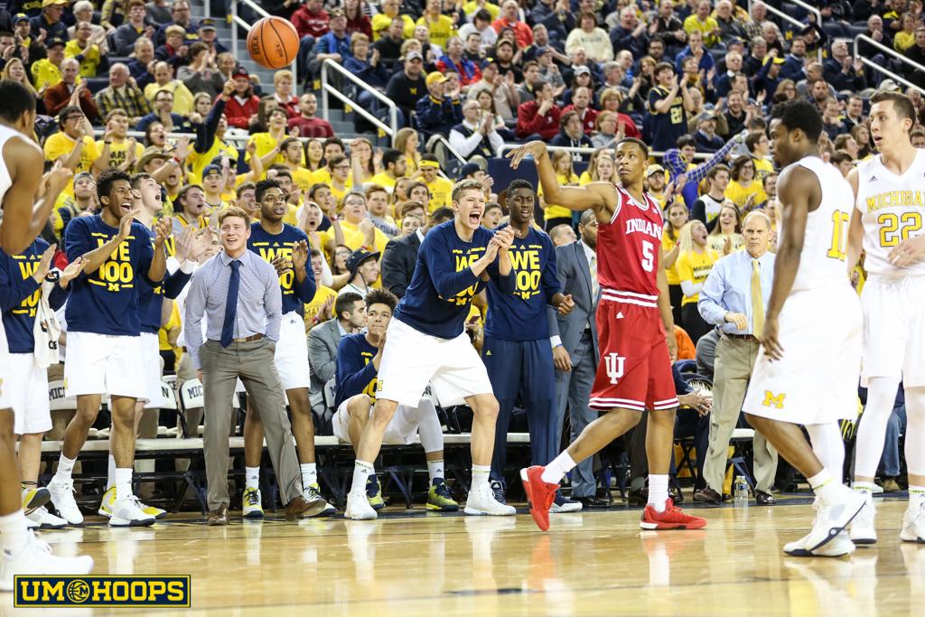 Indiana 80, Michigan 67-6
