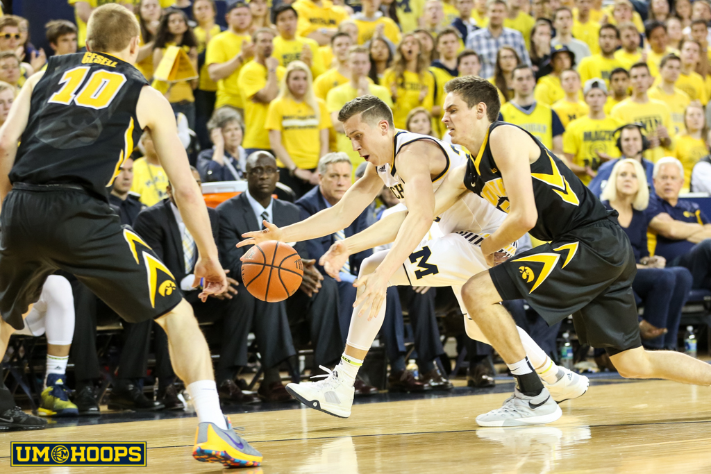 Iowa 71, Michigan 61-20