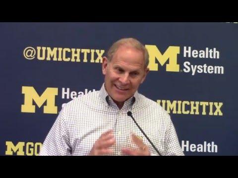 Video: John Beilein talks transfers, recruiting and offseason goals
