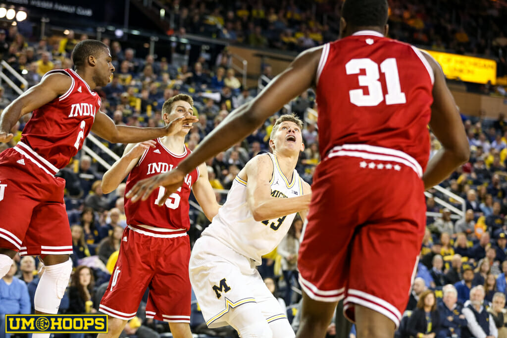 Michigan 90, Indiana 60