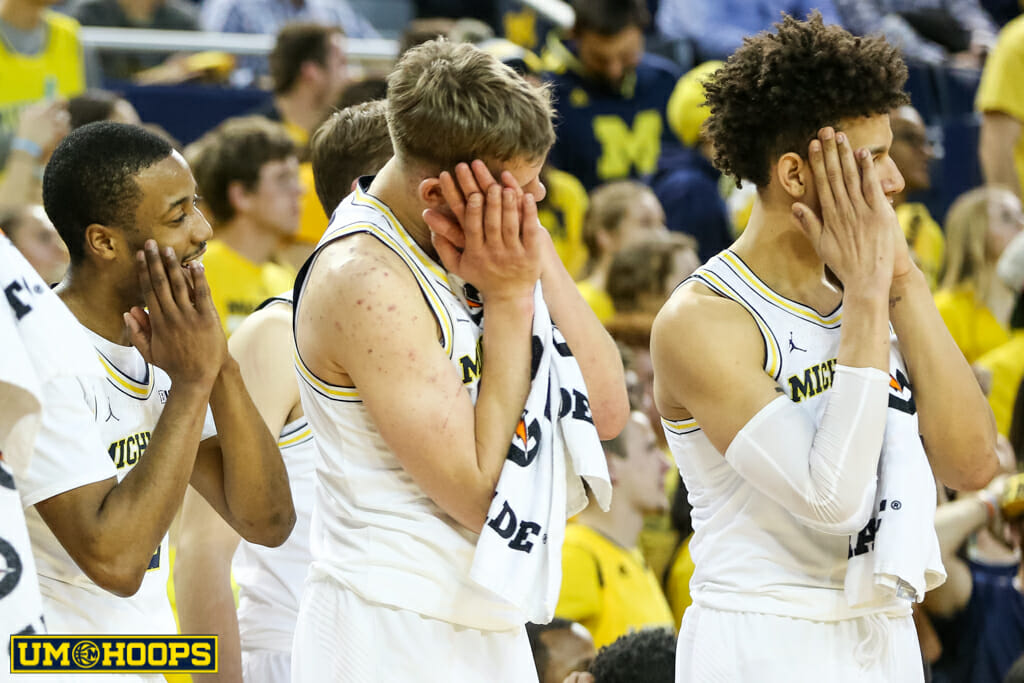 Michigan 90, Indiana 60-30