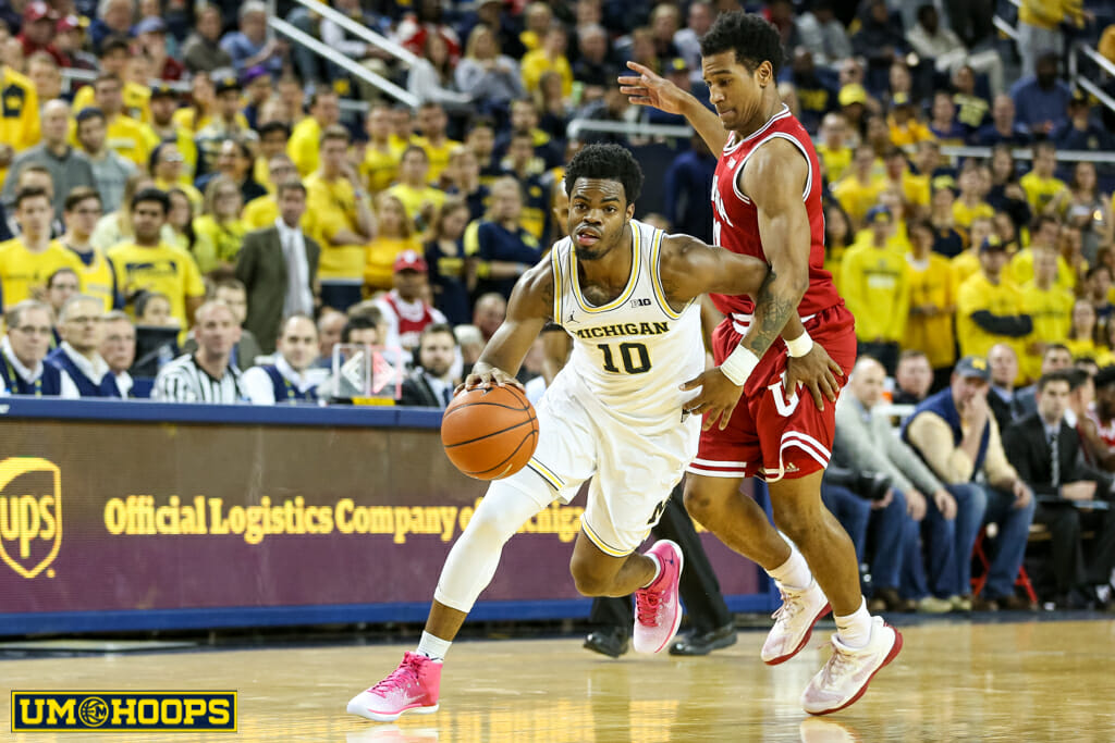 Michigan 90, Indiana 60-29