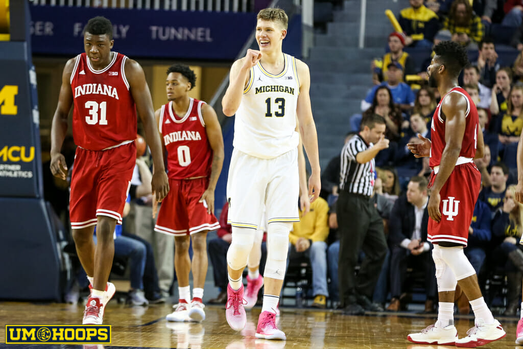Michigan 90, Indiana 60-24