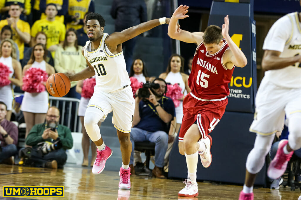 Michigan 90, Indiana 60-25