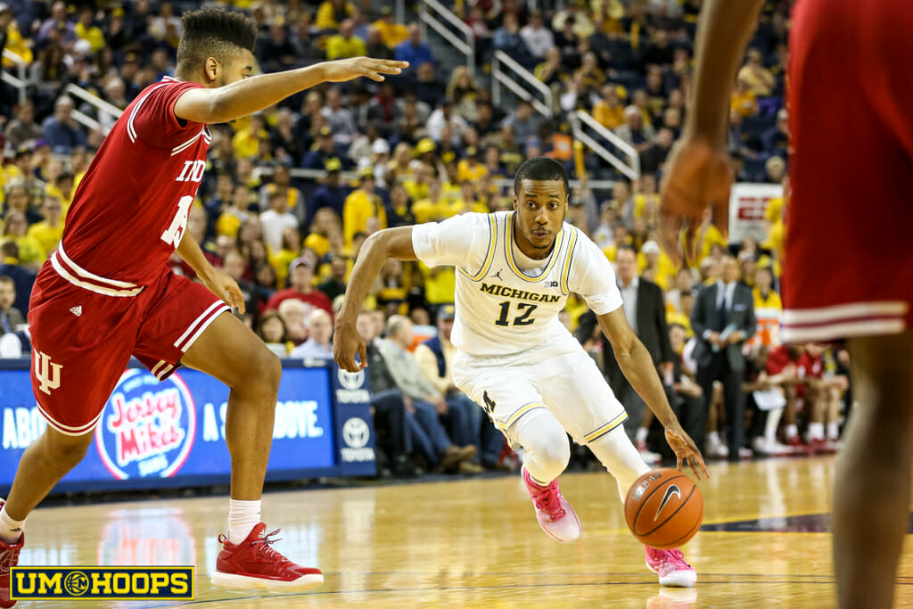 Michigan 90, Indiana 60-21