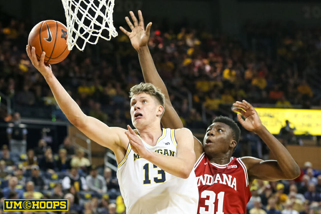 Michigan 90, Indiana 60-18