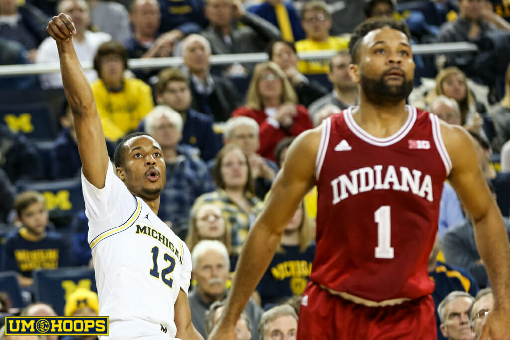 Michigan 90, Indiana 60-16