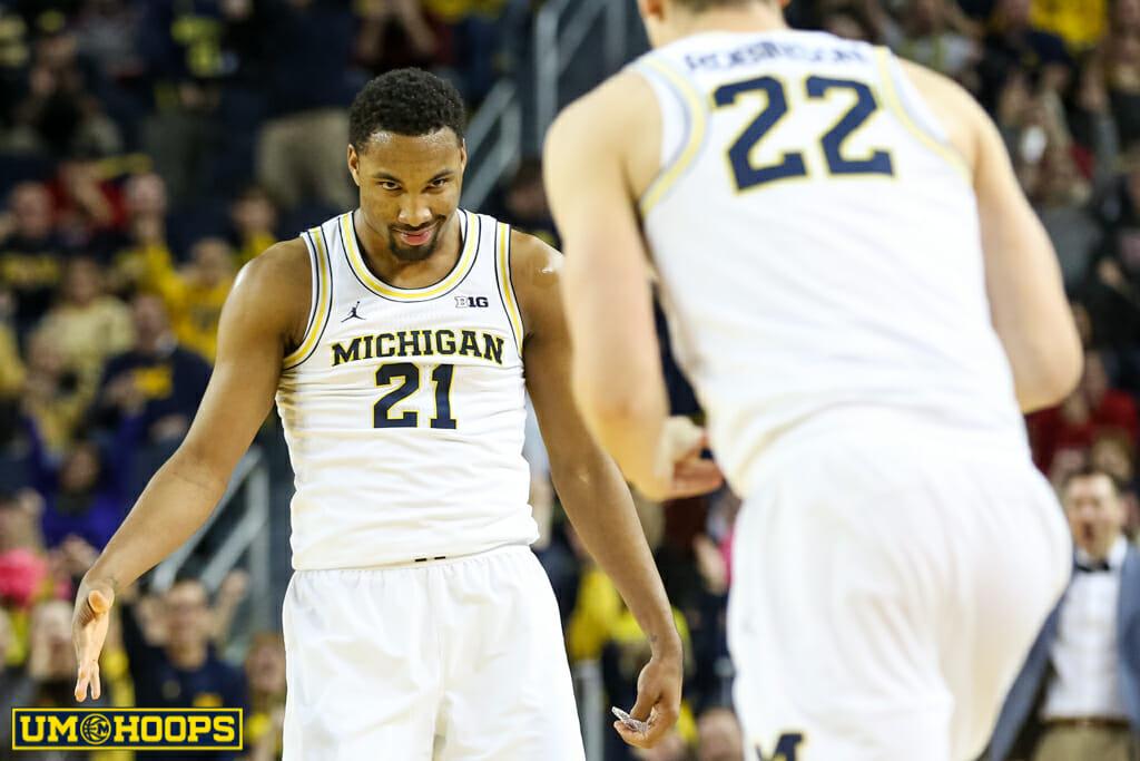 Michigan 90, Indiana 60-14