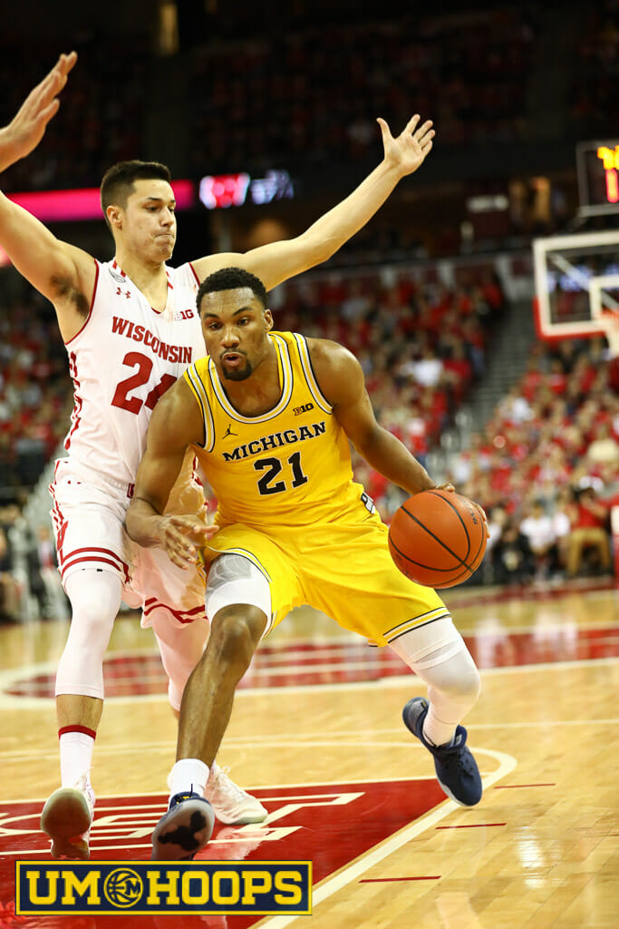 Wisconsin 68, Michigan 64 (15 of 21)
