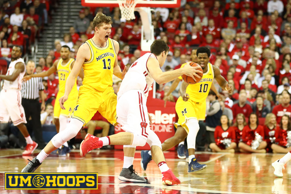 Wisconsin 68, Michigan 64 (6 of 21)
