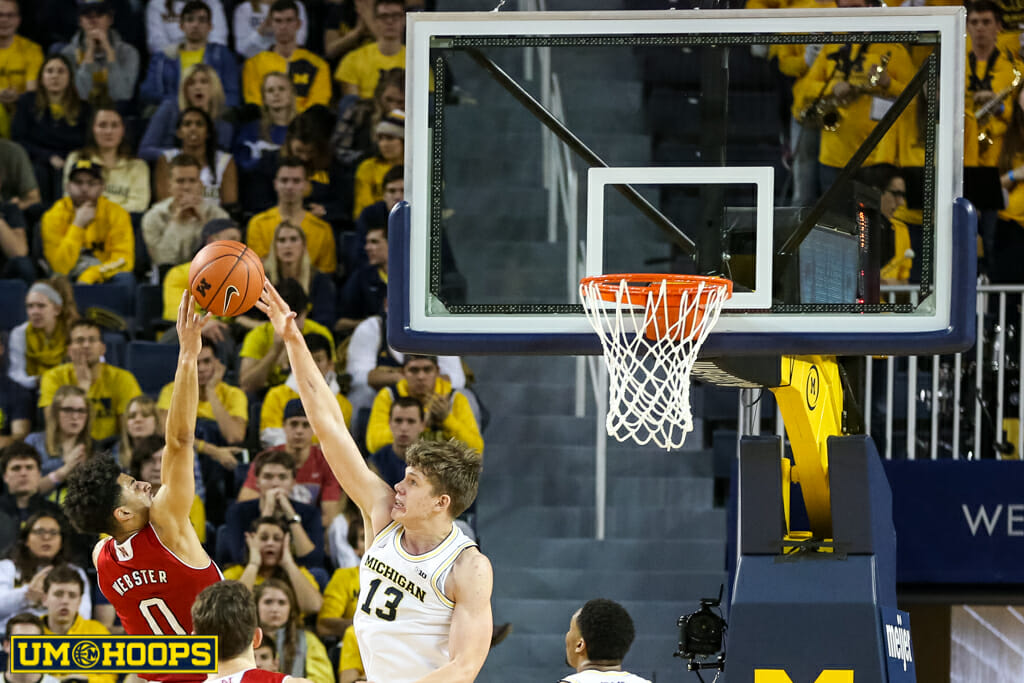 Michigan 91, Nebraska 85-29