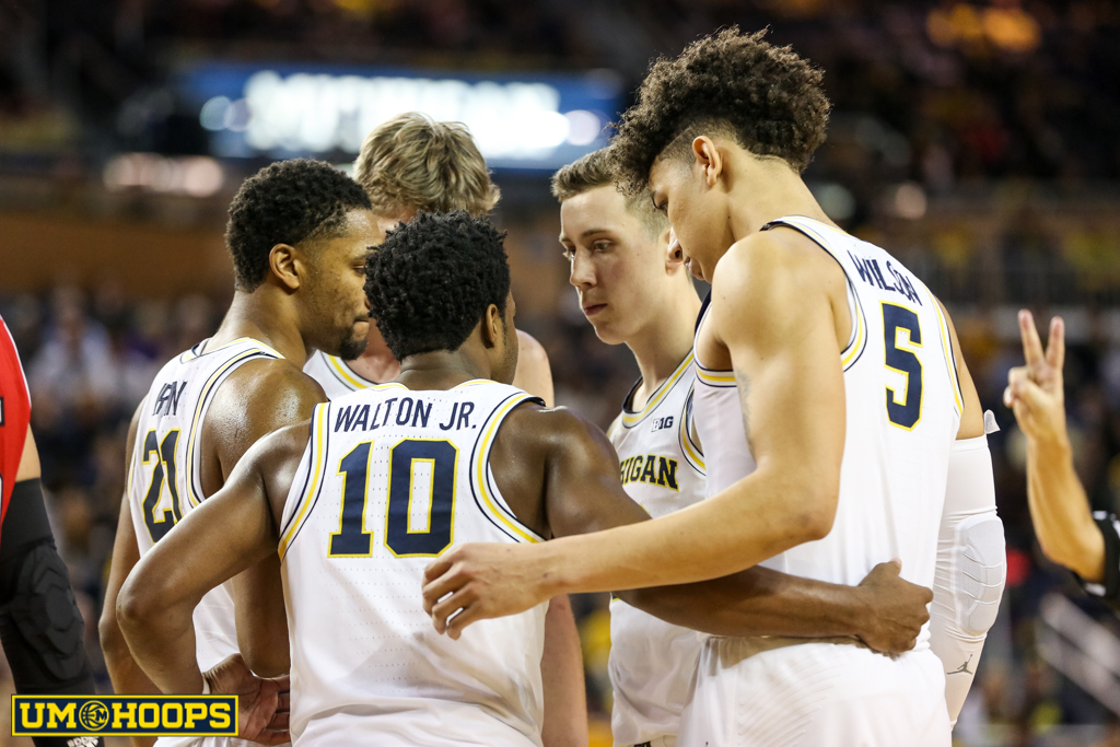 Michigan 91, Nebraska 85-23