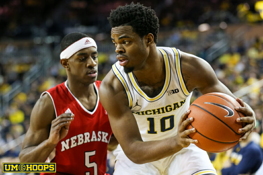 Michigan 91, Nebraska 85-21