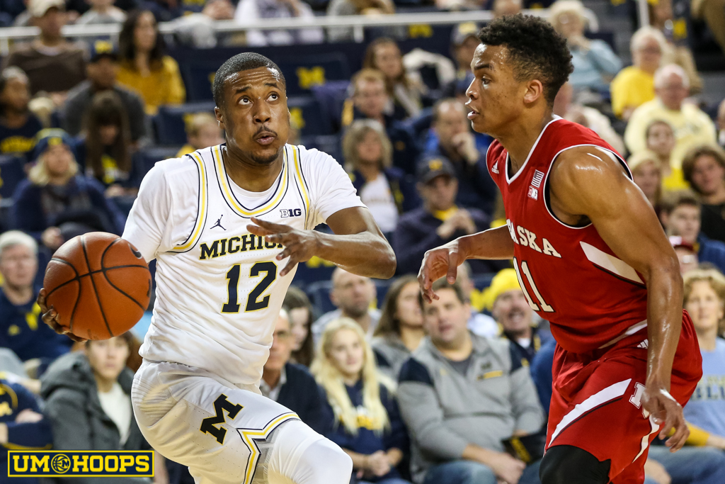 Michigan 91, Nebraska 85-8