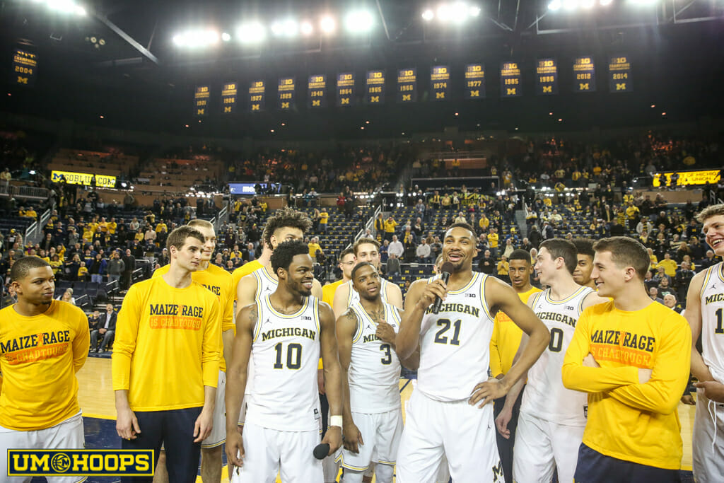 Michigan 82, Purdue 70-29