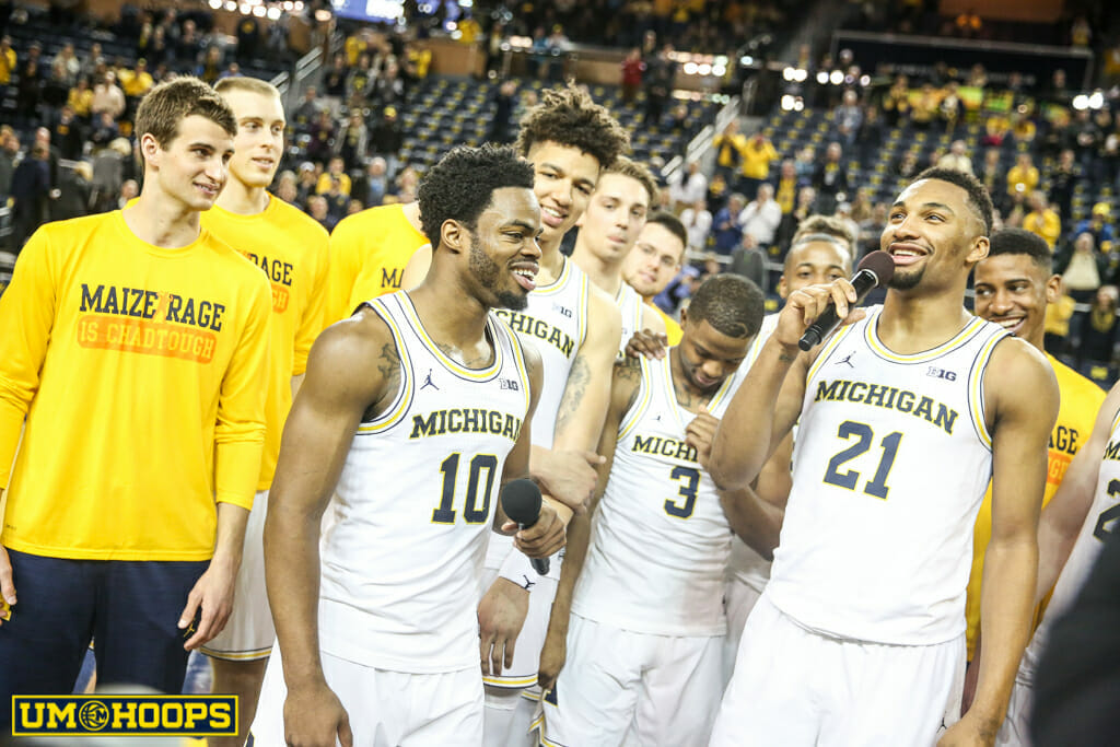 Michigan 82, Purdue 70-27
