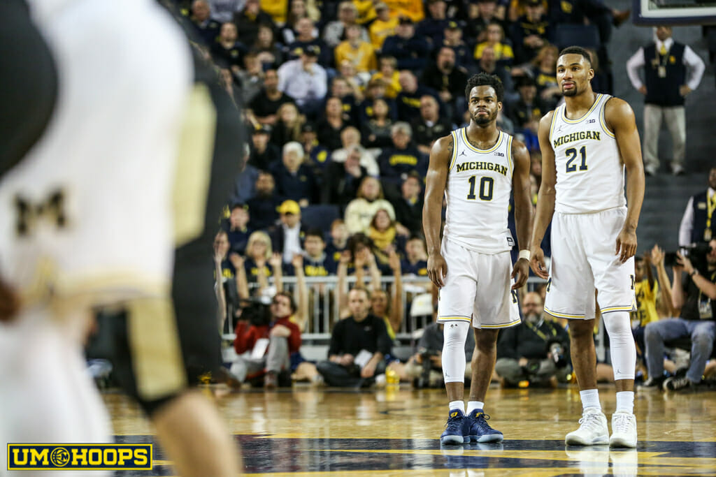 Michigan 82, Purdue 70-23