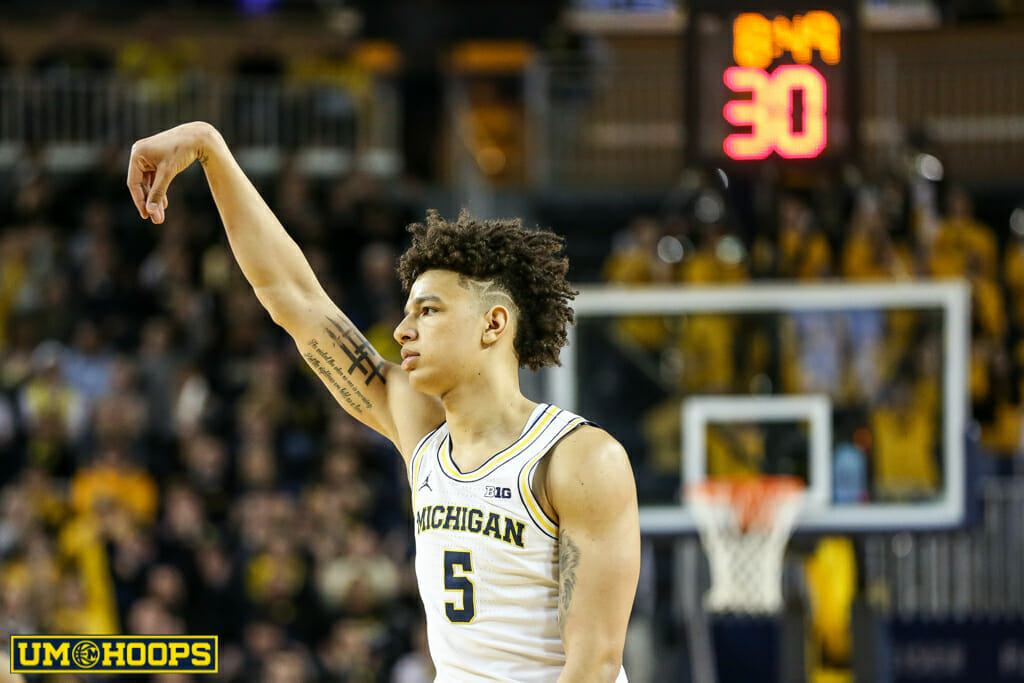 Michigan 82, Purdue 70-20