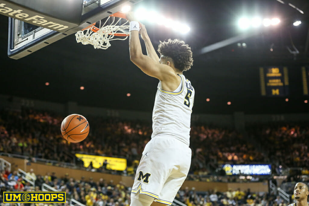 Michigan 82, Purdue 70-17