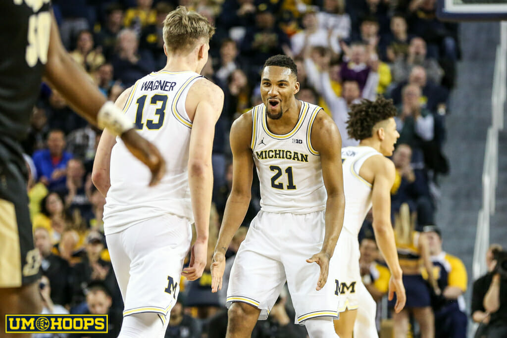 Michigan 82, Purdue 70-9