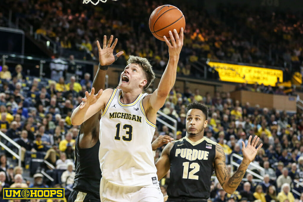Michigan 82, Purdue 70-7