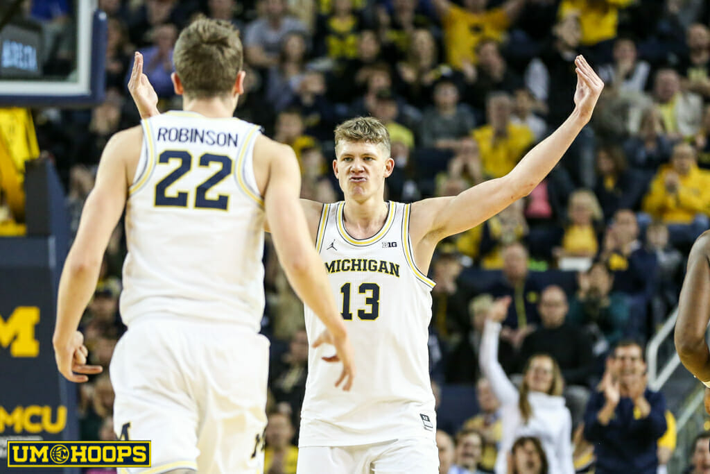 Michigan 82, Purdue 70-6