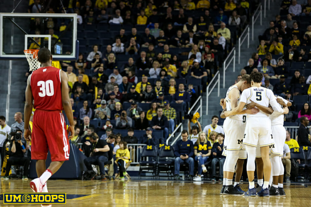 Michigan 64, Wisconsin 58