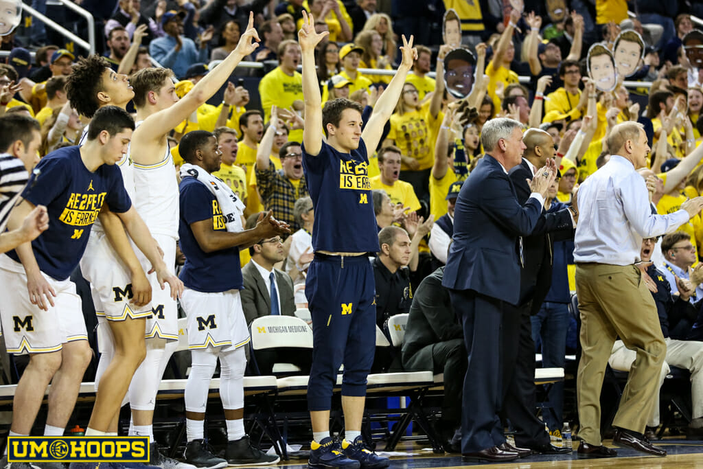 Michigan 64, Wisconsin 58-37