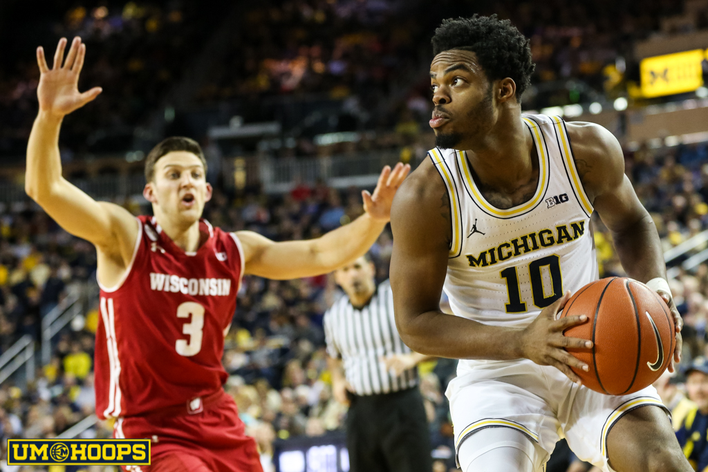 Michigan 64, Wisconsin 58-14