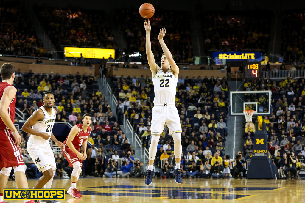 Michigan 64, Wisconsin 58-12