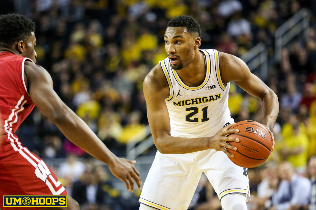 Michigan 64, Wisconsin 58-11