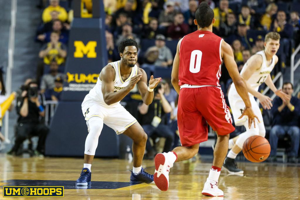 Michigan 64, Wisconsin 58-5