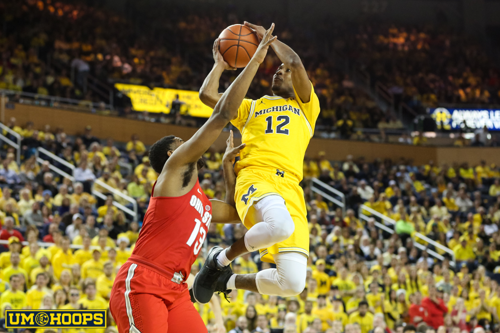 Ohio State 70, MIchigan 66-17