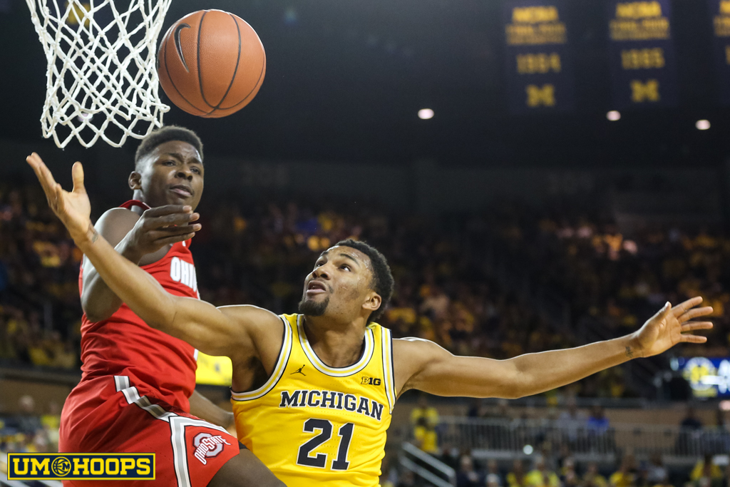 Ohio State 70, MIchigan 66-8