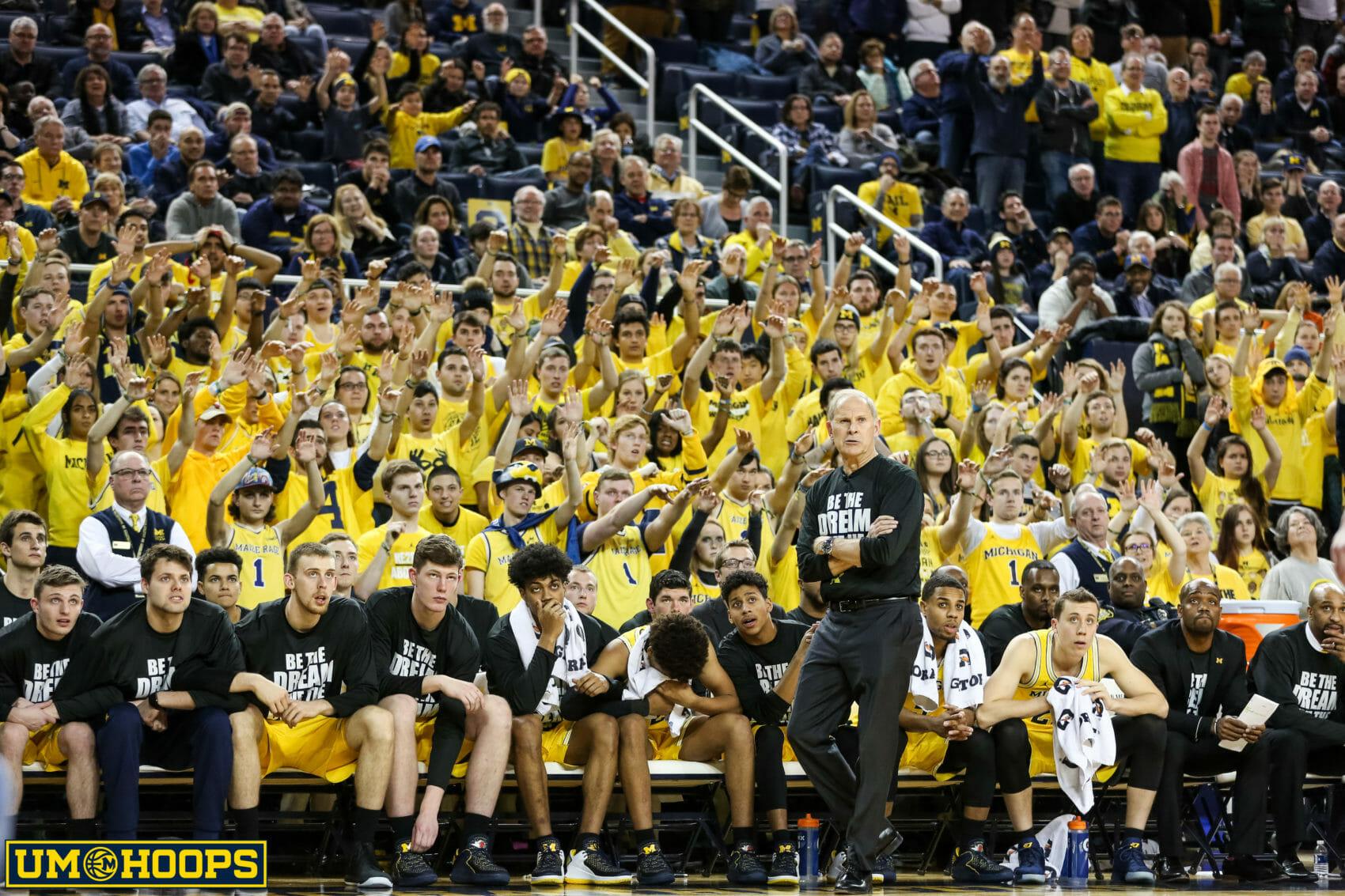 Michigan Basketball Schedule 2020 2019 20 Michigan Wolverines Basketball Schedule