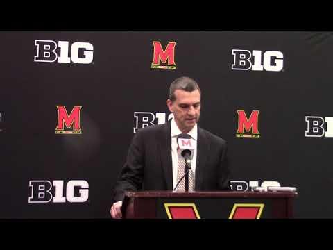 Video: Mark Turgeon talks loss to Michigan