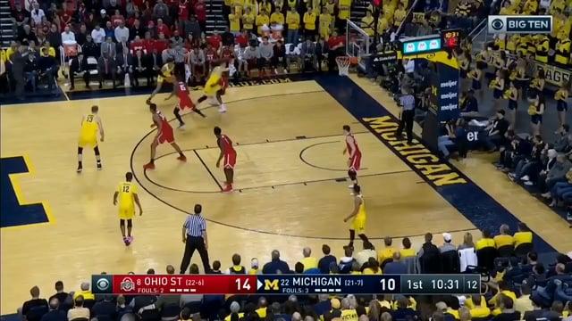 Five Key Plays: Michigan 74, Ohio State 62