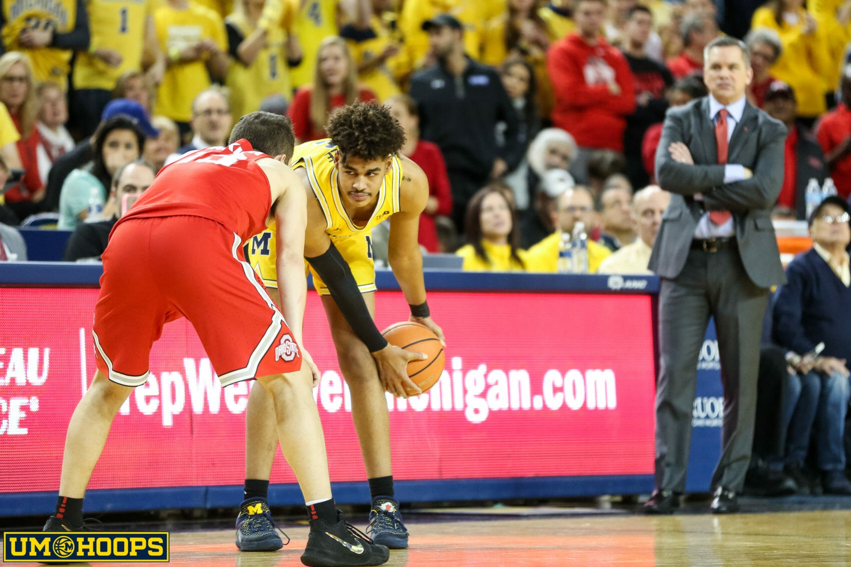Michigan 74, Ohio State 62-33