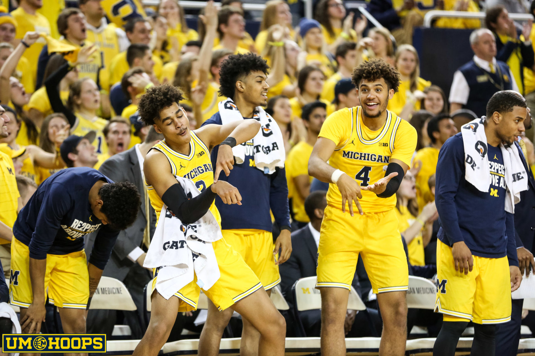 Michigan 74, Ohio State 62-22