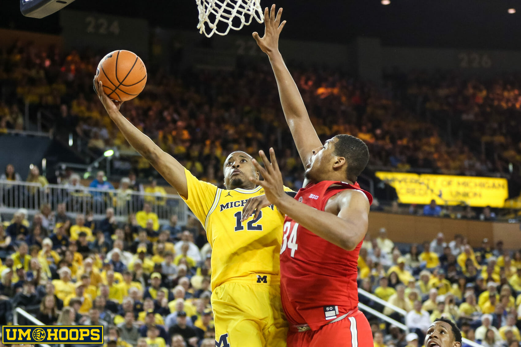 Michigan 74, Ohio State 62-19