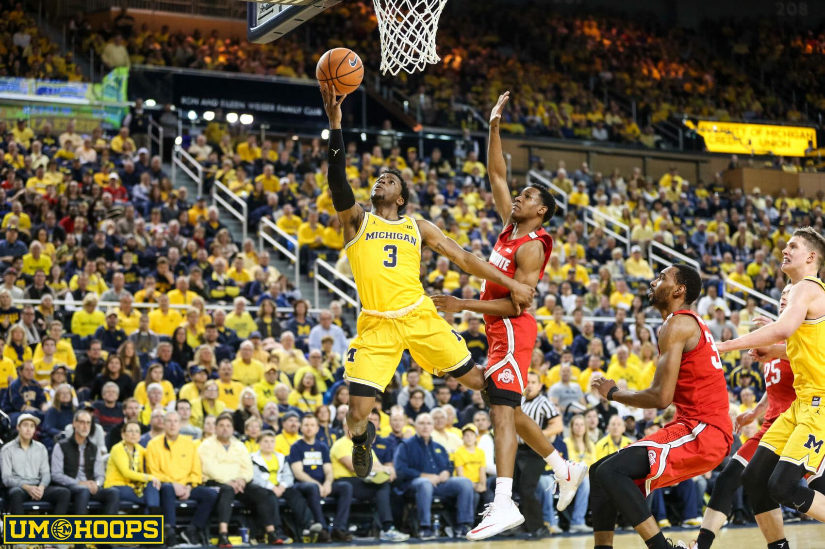 Michigan 74, Ohio State 62-17