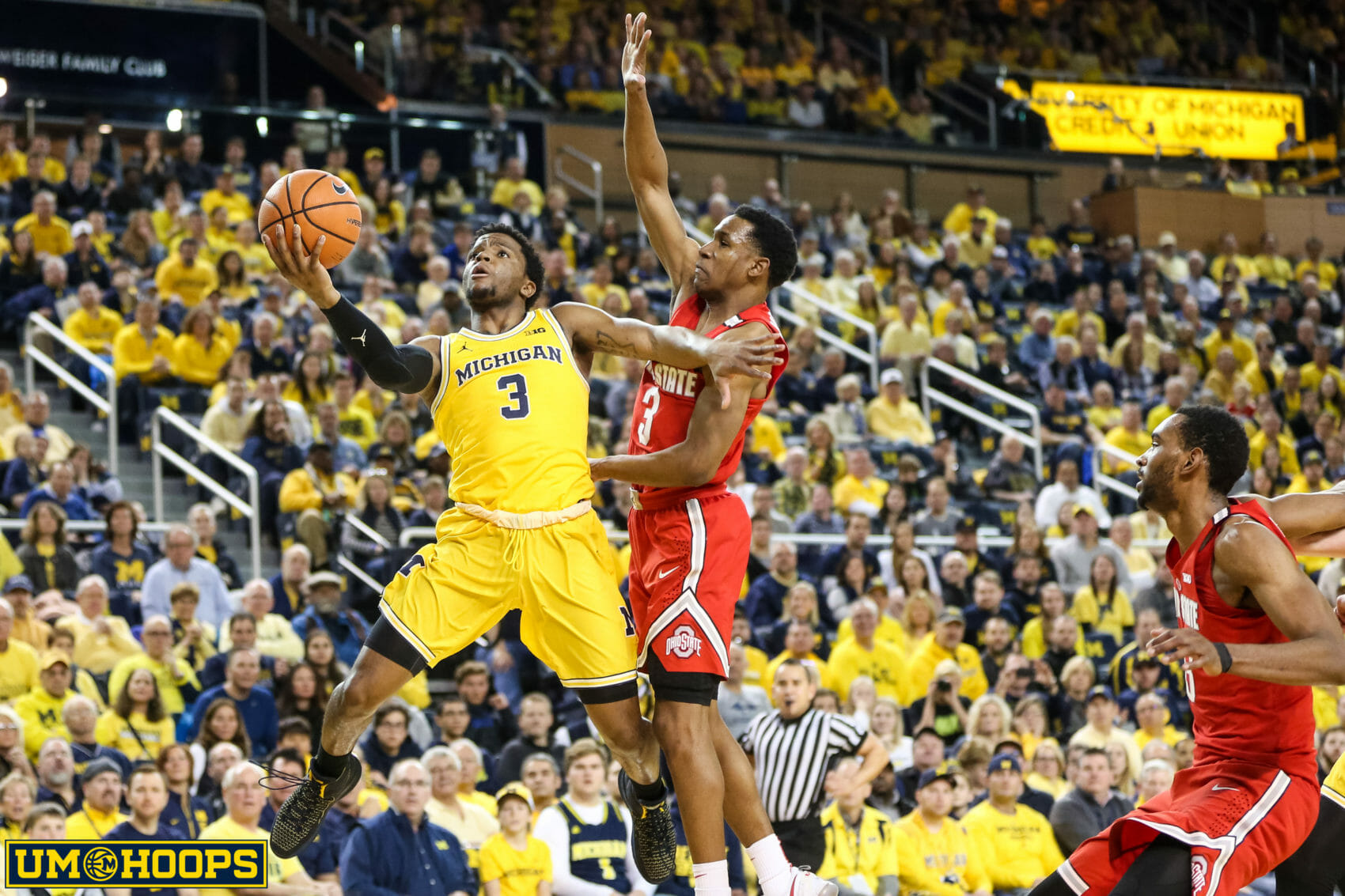 Michigan 74, Ohio State 62-16