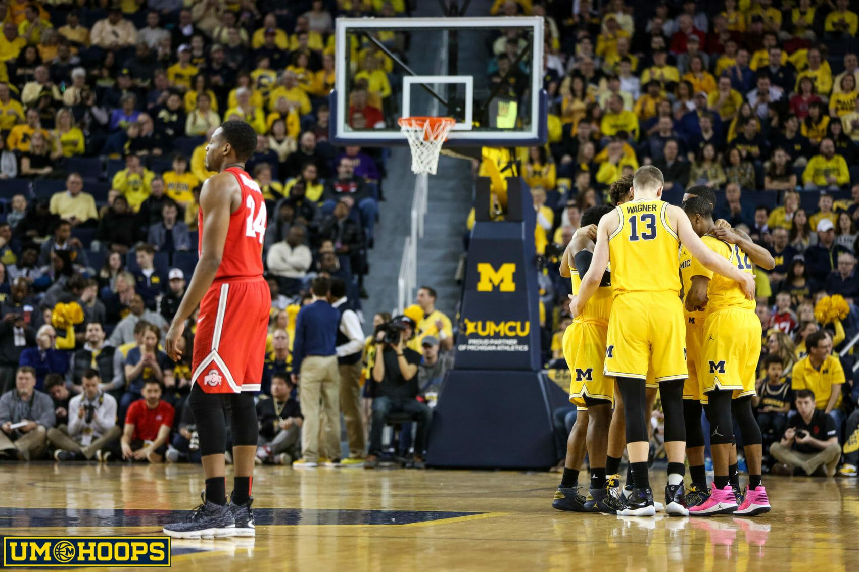 Michigan 74, Ohio State 62-5